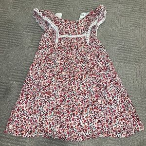 Baby Gap Dress Girl 3T Floral Cotton